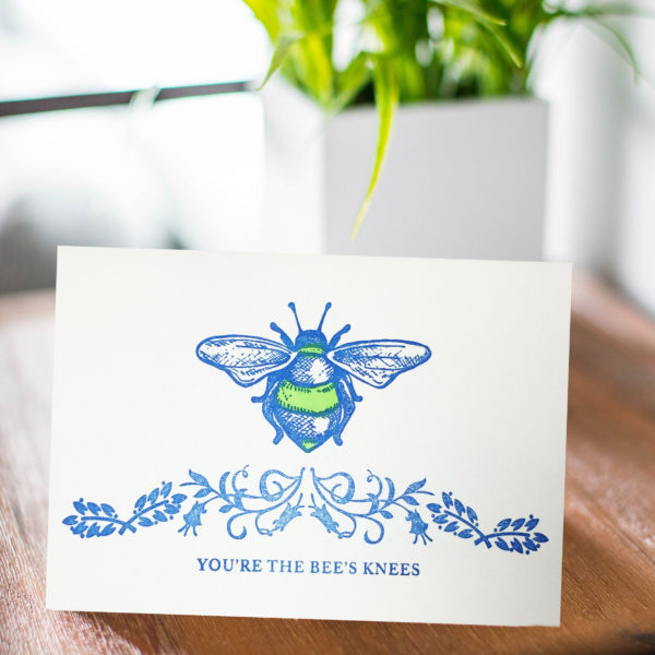 maggie-marley-bee-knees-letterpress-greeting-card-